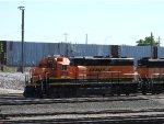 BNSF 2714 Reversing A Local