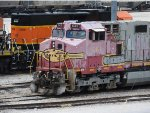 BNSF 643 Parked In The Service Tracks