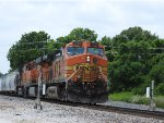 BNSF 4528 Waiting For The All Clear