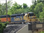 BNSF 1741 Switching In The BNSF Yard