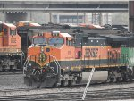 BNSF 976 In the Yard