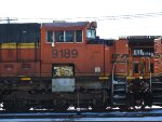 BNSF 9189 Being Worked On In The BNSF Yard