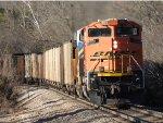 BNSF 9132 Trailing On A Coal Train At Catalpa