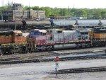 BNSF 643 Sitting In BNSFs Kansas Avenue Trainyard