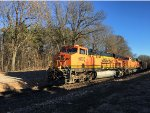 BNSF 5835 Leading An Empty Coal Train At Catalpa