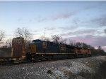 CSX 3286 Trailing On A BNSF Train At Highway 125