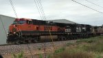 BNSF 971 Leading NS 9252 Operation Lifesaver