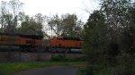 BNSF 617 Trailing On An Intermodal