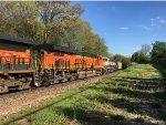 BNSF 8290 Trailing On A Scherer Coal Train At Catalpa