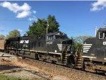 NS 3632 Trailing On A Scherer Coal Train At Catalpa