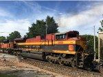 KCSM 4098 Trailing On A Coal Train