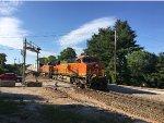 BNSF 7816 Leading An Intermodal