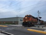BNSF 3815 Leading An Autorack