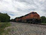 BNSF 6140 Leading A Scherer Coal Train