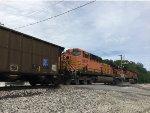 BNSF 5737 Trailing On A BNSF Scherer Coal Train