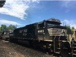 NS 6903 Trailing On An Intermodal