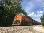 BNSF 6885 Leading An Intermodal