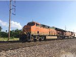 BNSF 3959 Leading A Mixed Freight