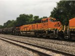 BNSF 3915 Trailing On A Mixed Freight At Turners
