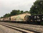 INTX SOO Line Hopper On Train At Turners