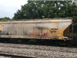 INTX Chessie System Hopper On Train At Turners