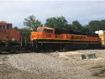 BNSF 262 Trailing On The MEM-KCK At Turners
