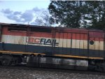 BCOL 4613 Trailing On A Tank Train