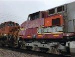 BNSF 643 Trailing On The MEMKCK