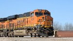 BNSF 4238 Leading Intermodal Into BNSF's Kansas Avenue Trainyard