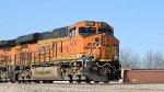 BNSF 4238 Leading Intermodal Into BNSF Yard