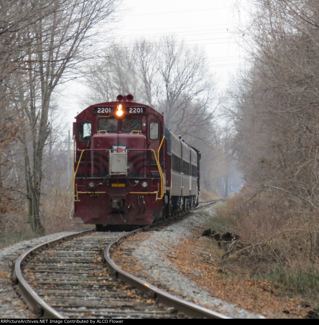 Finger Lakes Railway Santa Train