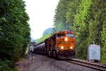 BNSF 6321 Crude Oil Empties