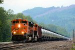 BNSF 8799 Crude Oil Empties