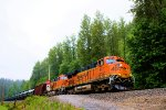 BNSF 6417 Crude Oil Empties