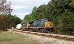 CSX ET44AH 3344 and 5278