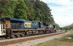 CSX ET44AH 3344 and ES40DC 5278 head SB