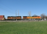 BNSF 4417 NS 26N suprise of the day with a B-unit