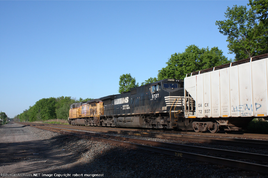 ethanol train 7:30 am