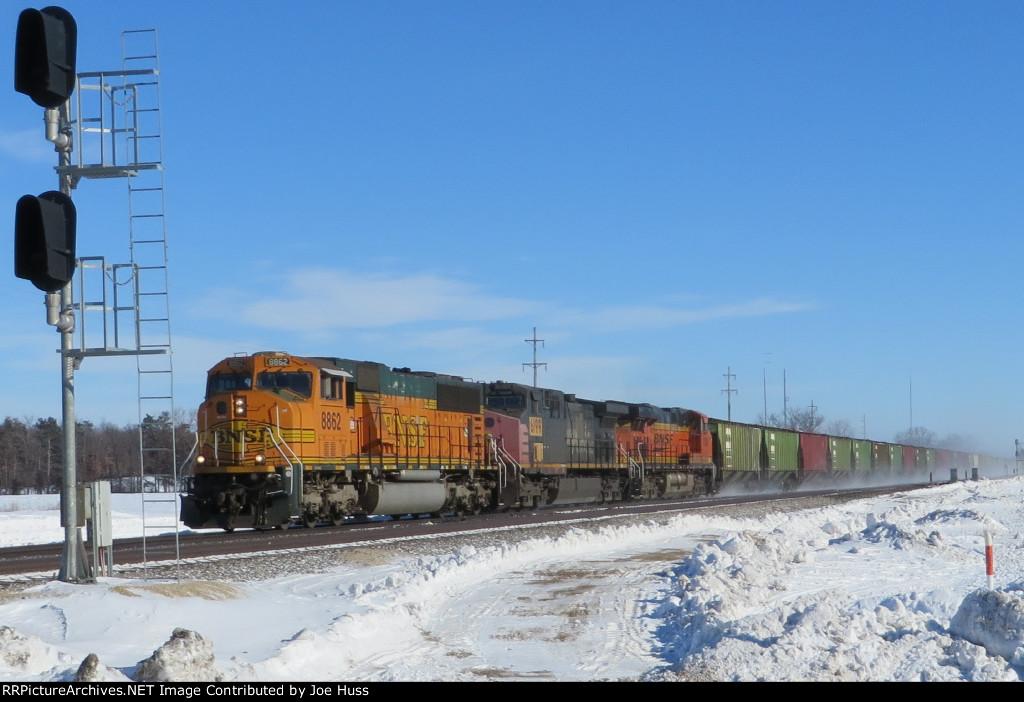 BNSF 8862 West