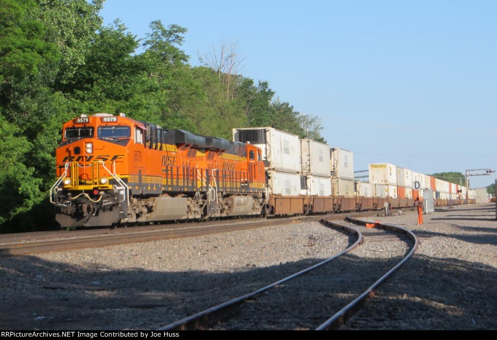 BNSF 6579 East
