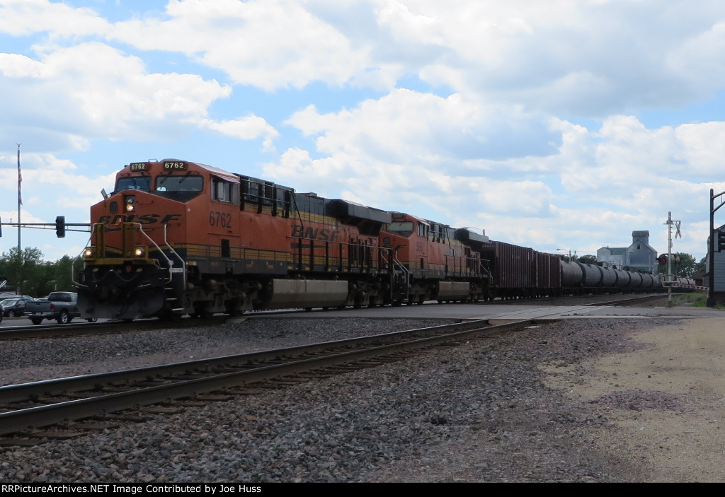 BNSF 6762 East