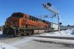 BNSF 6717 DPU