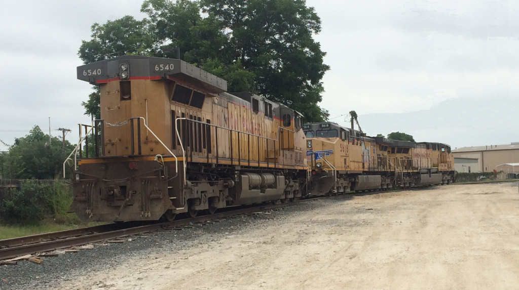 UP 6540  14Jun2016  Parked in the Yard
