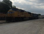 UP 4267  13May2016  Parked in the yard
