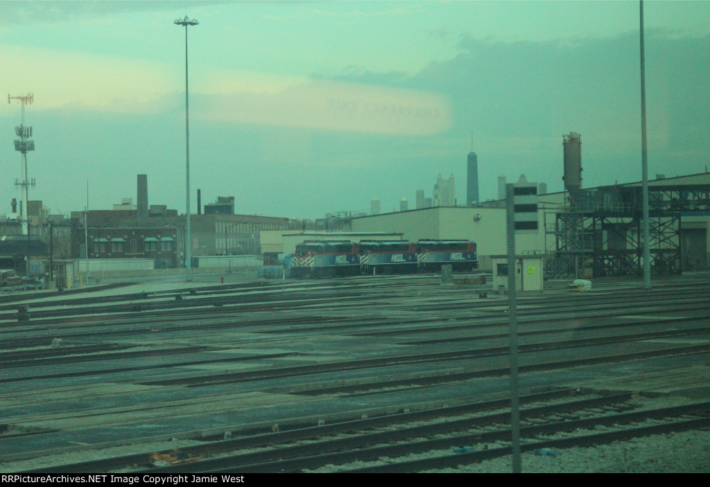 Metra's New F59PHs in Chicago