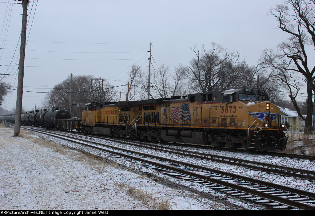UP Ethanol Train at Dolton Junction