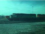 BNSF 1424 in the Cicero Yard