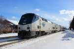 Amtrak 49 in Chesterton, IN