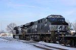 NS Coil Train in Chesterton, IN