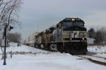 NS Stack Train in Chesterton, IN